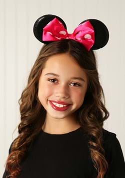 Minnie Mouse Bowtique Ear Shaped Headband