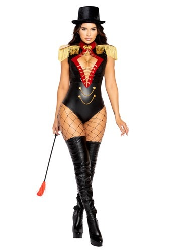 Click Here to buy Beauty Ringmaster Costume For Women from HalloweenCostumes, CDN Funds & Shipping