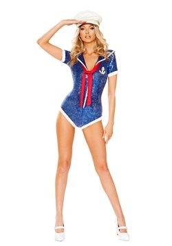 Women's Sultry Sailor Costume