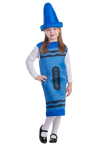 Blue Crayon Costume for Toddlers