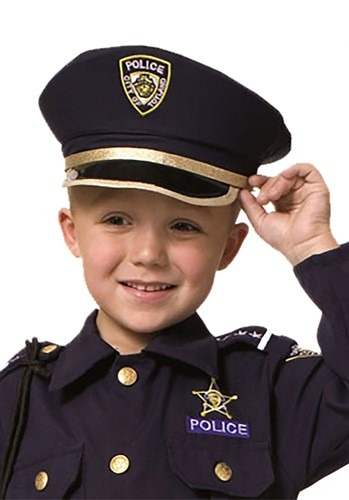 Click Here to buy Police Kids Hat from HalloweenCostumes, CDN Funds & Shipping