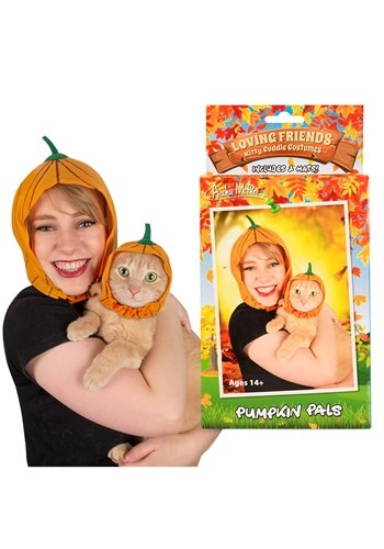 Pumpkin Pals Owner & Pet Costume Kit