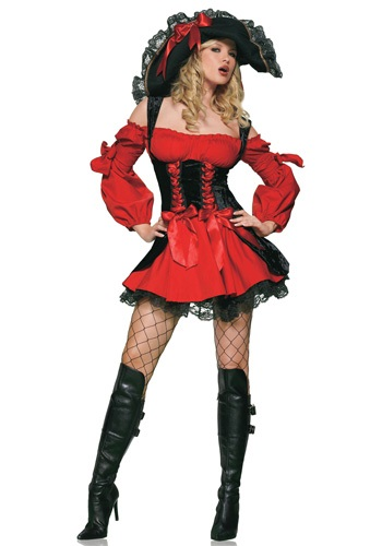 Adult Sexy Vixen Pirate Costume | Sexy Halloween Costume for Women