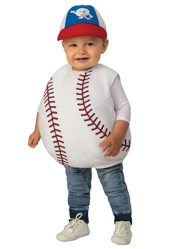Click Here to buy Baseball Baby Costume from HalloweenCostumes, CDN Funds & Shipping