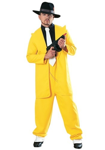 Yellow Zoot Suit Adult Size Costume