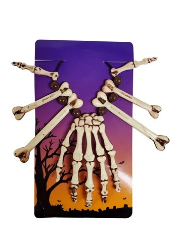 Click Here to buy Voodoo Necklace Skeleton Hand from HalloweenCostumes, CDN Funds & Shipping