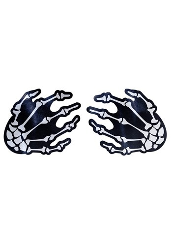 Click Here to buy Pastease Skeleton Hands Pasties from HalloweenCostumes, CDN Funds & Shipping