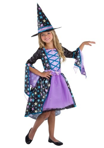 Click Here to buy Pastel Candy Witch Girls Costume from HalloweenCostumes, CDN Funds & Shipping