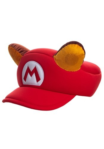 Click Here to buy Raccoon Cosplay Hat Super Mario from HalloweenCostumes, CDN Funds & Shipping