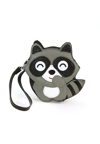 Detachable Raccoon Wristlet