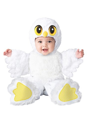 Click Here to buy Silly Snow Owl Baby Costume from HalloweenCostumes, CDN Funds & Shipping