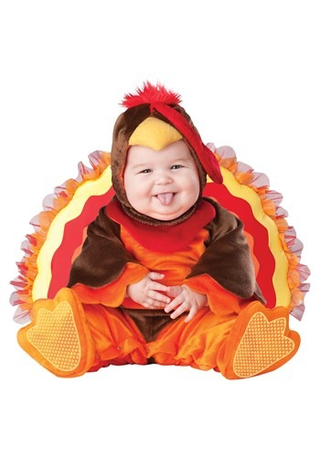 Click Here to buy Lil Gobbler Baby Costume from HalloweenCostumes, CDN Funds & Shipping