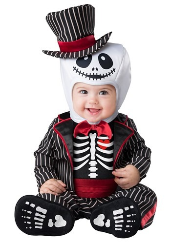 Click Here to buy Skeleton Baby Costume from HalloweenCostumes, CDN Funds & Shipping