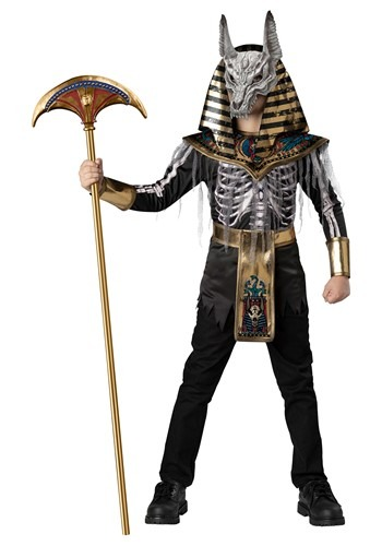 Anubis Boys Skeleton Warrior Costume