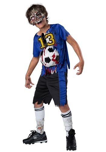 Click Here to buy Zombie Goals Boys Costume from HalloweenCostumes, CDN Funds & Shipping