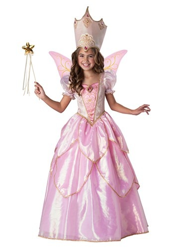Click Here to buy Girls Fairy Godmother Costume from HalloweenCostumes, CDN Funds & Shipping