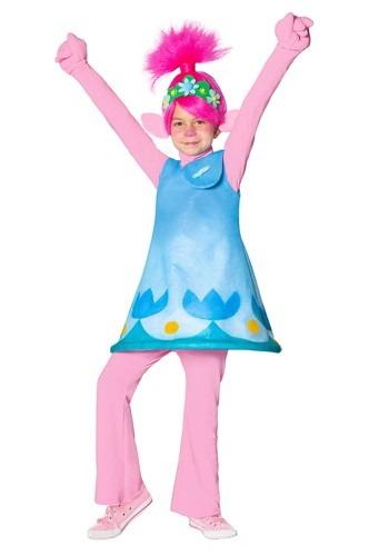 Click Here to buy Girls Trolls Poppy Premium Costume from HalloweenCostumes, CDN Funds & Shipping
