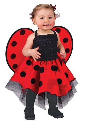 Click Here to buy Ladybug Baby Costume from HalloweenCostumes, CDN Funds & Shipping