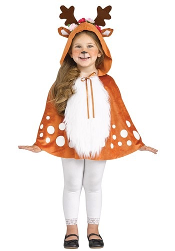 Click Here to buy Deer Toddler Poncho from HalloweenCostumes, CDN Funds & Shipping