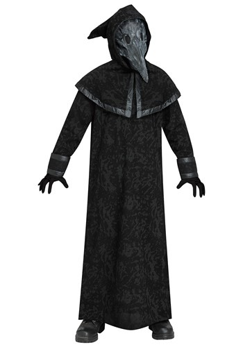 Click Here to buy Plague Doctor Kids Costume from HalloweenCostumes, CDN Funds & Shipping