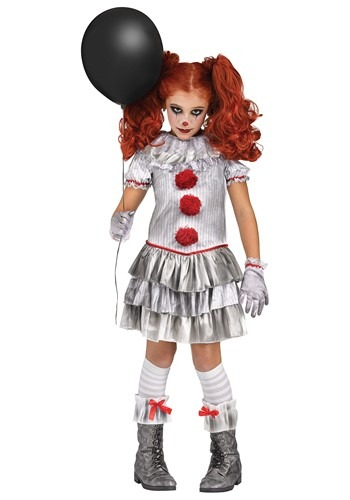 Carnevil Clown Girls Costume