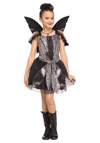 Click Here to buy Girls Fairy Dragonfly Costume from HalloweenCostumes, CDN Funds & Shipping