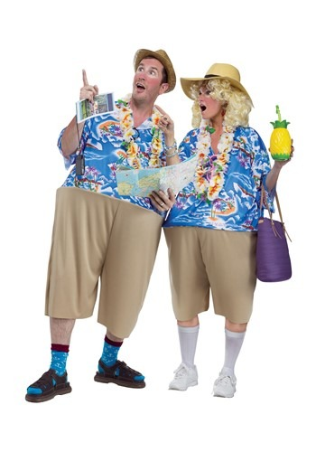 Adult Tourist Tacky Costume