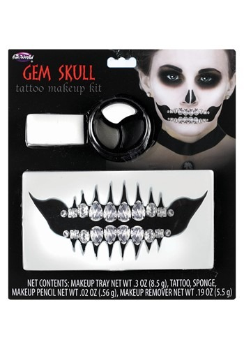 Click Here to buy Skull Gem Makeup Kit from HalloweenCostumes, CDN Funds & Shipping