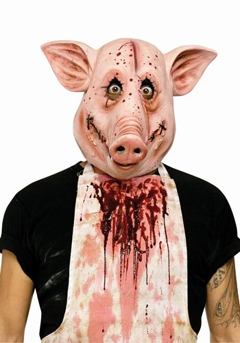 Click Here to buy Adult Psycho Pig PVC Mask from HalloweenCostumes, CDN Funds & Shipping
