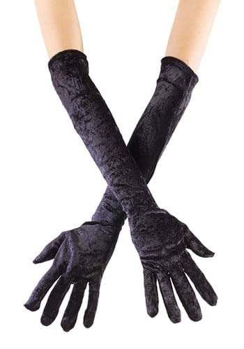 Click Here to buy Long Black Velvet Gloves from HalloweenCostumes, CDN Funds & Shipping