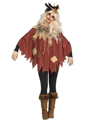 Click Here to buy Scarecrow Womens Poncho from HalloweenCostumes, CDN Funds & Shipping
