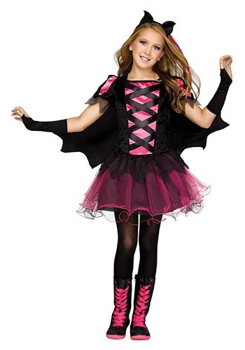 Click Here to buy Bat Queen Girls Costume from HalloweenCostumes, CDN Funds & Shipping