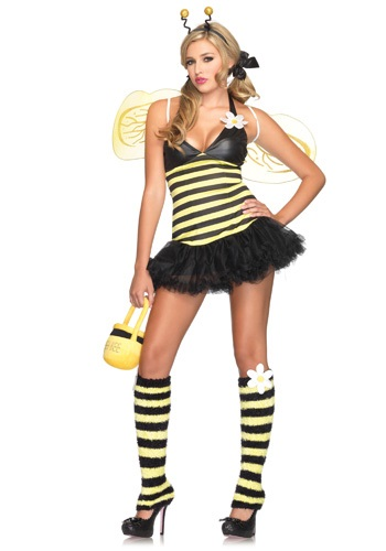 Click Here to buy Sexy Daisy Bee Costume from HalloweenCostumes, CDN Funds & Shipping