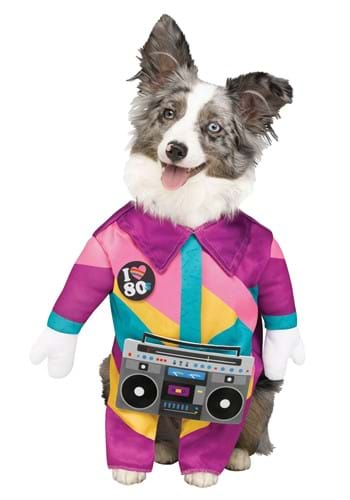 Click Here to buy 80s Pet Dog Costume from HalloweenCostumes, CDN Funds & Shipping