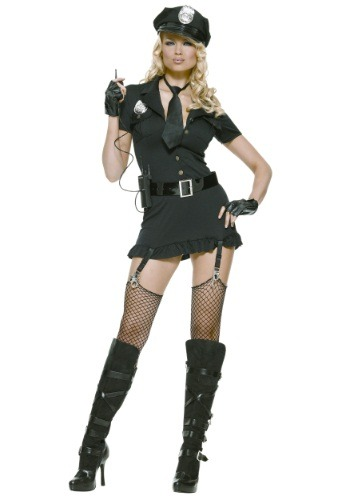 Click Here to buy Sexy Dirty Cop Costume from HalloweenCostumes, CDN Funds & Shipping