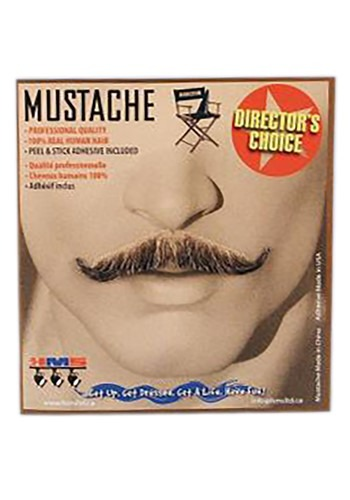 Adults Magician Brown Mustache