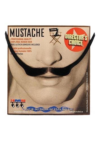 1890s Style Mustache in Black