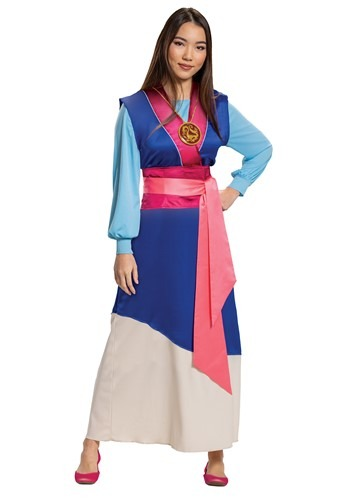 Mulan Blue Dress Costume for Women