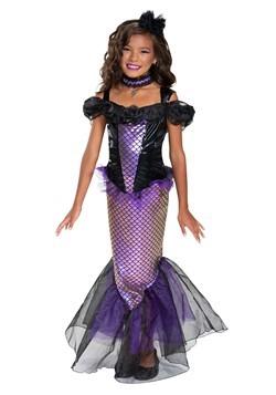 Girl's Darkest Siren Costume