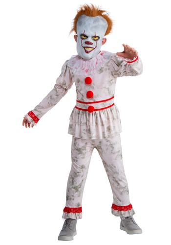 Evil Dancing Clown Kids Costume