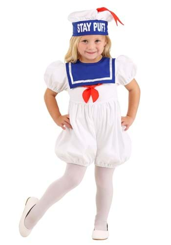 Click Here to buy Toddler Ghostbusters Stay Puft Bubble Costume from HalloweenCostumes, CDN Funds & Shipping