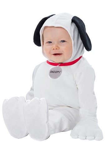 Click Here to buy Baby Peanuts Snoopy Costume from HalloweenCostumes, CDN Funds & Shipping