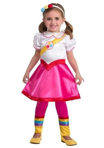 True & The Rainbow Kingdom Girls Classic True Costume