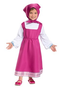 Masha and The Bear Girls Masha Costume