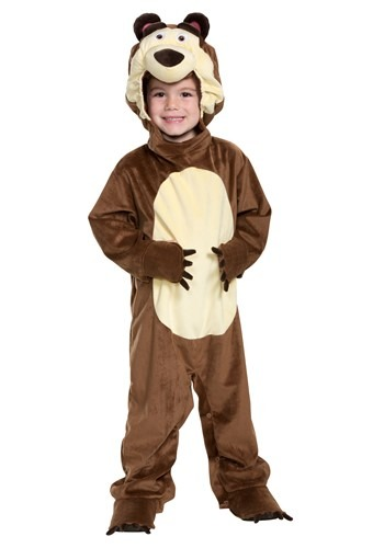 Click Here to buy Masha & The Bear Boys The Bear Costume from HalloweenCostumes, CDN Funds & Shipping