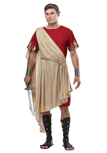 Click Here to buy Plus Roman Mens Toga from HalloweenCostumes, CDN Funds & Shipping