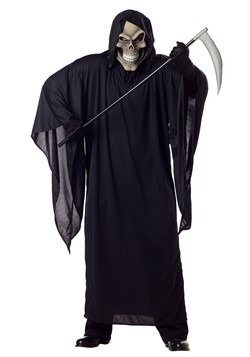 Men's Plus Size Grim Reaper Costume