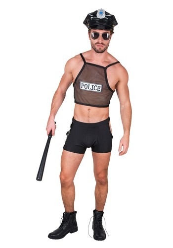 Hot Cop Mens Costume