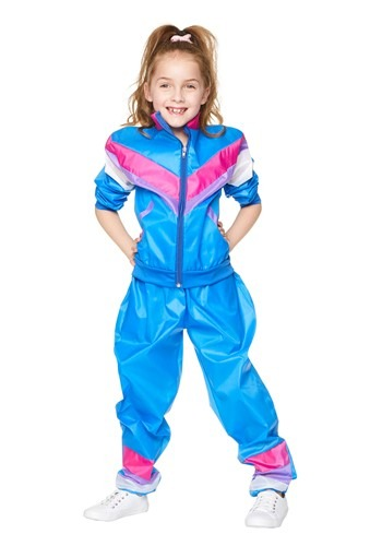 Click Here to buy Girl Tracksuit Costume from HalloweenCostumes, CDN Funds & Shipping