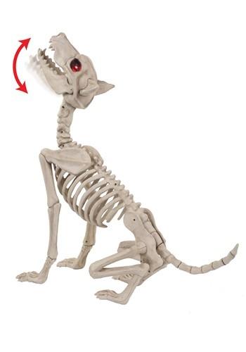 Howling Bonez Animated Dog Skeleton